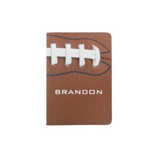 Fußball-Entwurfs-Pass-Abdeckung Passhülle