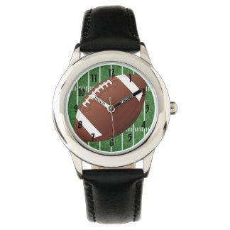 Fußball-Entwurfs-Uhr Uhr
