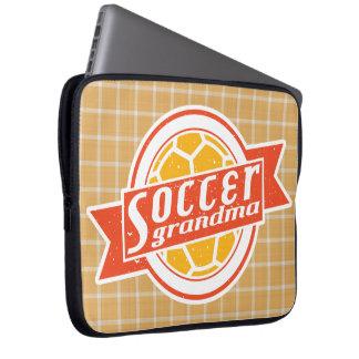 Fußball-Großmutter-Computer-Kasten Laptopschutzhülle