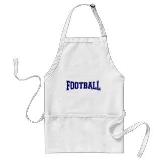 Fußball-Hochschulart Schürze
