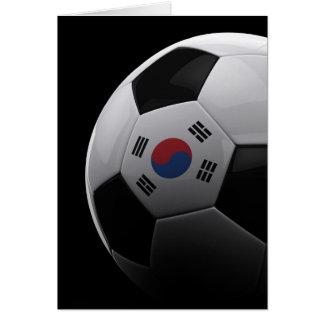 Fußball in Südkorea Karte