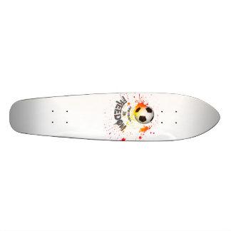 Fußball ist Freiheits-Skateboard (splashball Personalisiertes Skatedeck