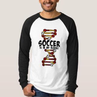 Fußball ist in meinem Blut!  mit DNS-Strang T-Shirt