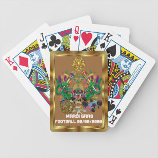 Fußball-Karneval-Drache-Königansicht merkt bitte Poker Karten