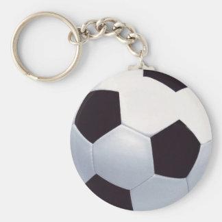 Fußball Keychain Standard Runder Schlüsselanhänger