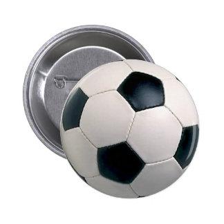 Fußball-Knopf Runder Button 5,7 Cm