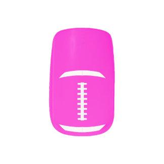 Fußball-Mamma-oder Freundin-niedliche Minx Nagelkunst