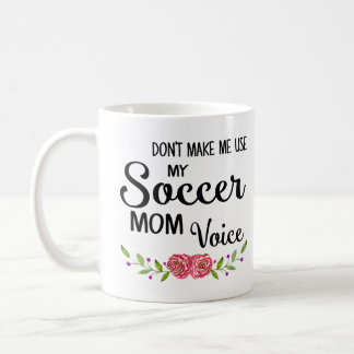 Fußball-Mamma-Stimme Kaffeetasse