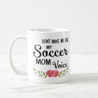 Fußball-Mamma-Stimme Tasse