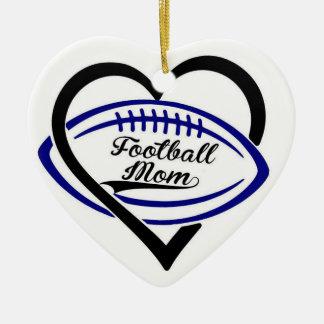 Fußball-Mamma-Verzierung Keramik Ornament