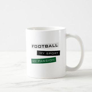 Fußball mein Sport meine Leidenschaft Kaffeetasse