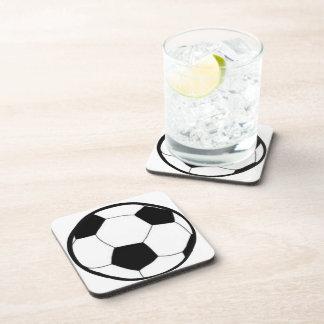 Fußball mit Ball Untersetzer
