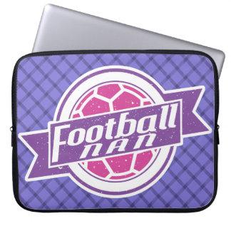 Fußball Nan (Großmutter) Laptopschutzhülle