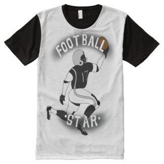 Fußball-T-Shirt für Männer T-Shirt Mit Bedruckbarer Vorderseite