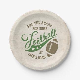 Fußball-Themed Party-Teller Pappteller 17,8 Cm