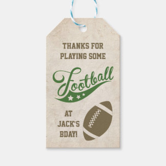 Fußball-themenorientierte Bevorzugungs-Umbauten Geschenkanhänger