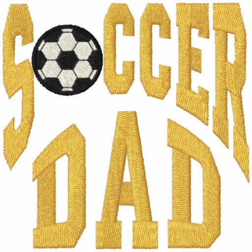 Fußball-Vati Besticktes Polohemd