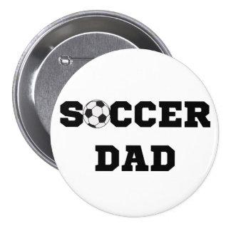 Fußball-Vati-Knopf Buttons
