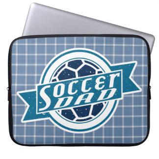 Fußball-Vati-Laptop-Abdeckung Laptopschutzhülle