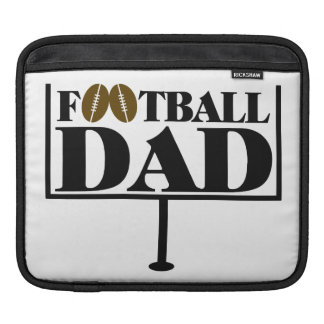 Fußball-Vati-Ziel-Posten Sleeve Für iPads