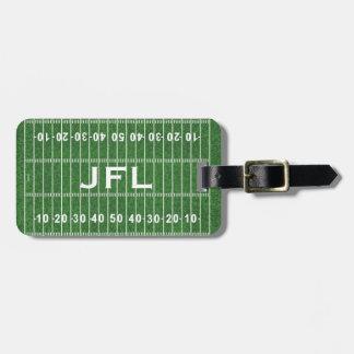 Fußballplatz-Entwurfs-Gepäckanhänger Gepäckanhänger