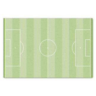 Fußballplatz Seidenpapier