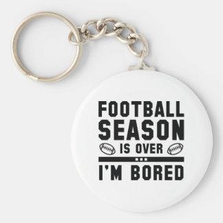 Fußballsaison ist vorbei schlüsselanhänger