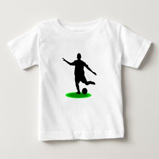Fußballspieler Baby T-shirt