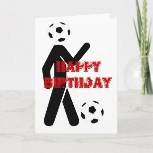 Geburtstags Für Fußballspieler Karten Zazzlech