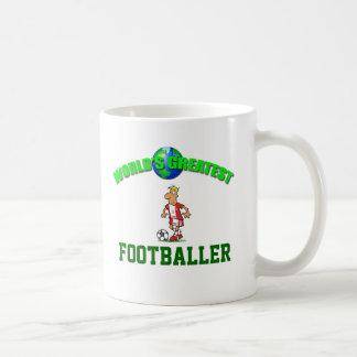 Fußballspieler-weltbeste Tasse