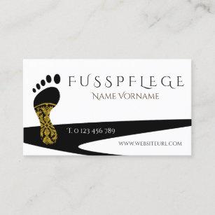 Fusspflege Visitenkarte