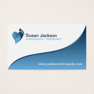 Fußpfleger-Visitenkarte Visitenkarte