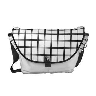 Futasujigoushi japanische Muster-Bote-Tasche Kuriertasche