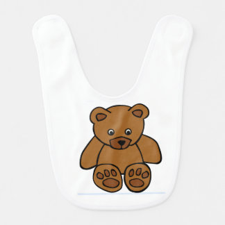 Füttern Sie den Bärn-Baby-Schellfisch Babylätzchen