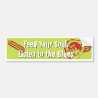 Füttern Sie Ihr Soul, hören Sie auf den Autoaufkleber
