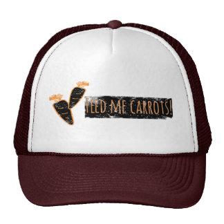 Füttern Sie mir Karotten Hut/Kappe Retro Cap
