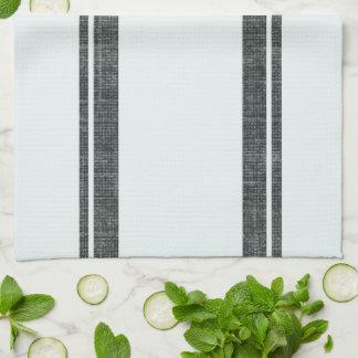 Füttern Sie Monogramm des Sack-Art-Geschirrtuch-w Geschirrtuch