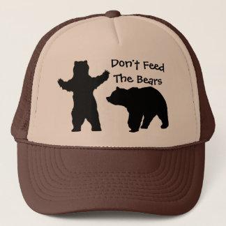 Füttern Sie nicht die Bären Truckerkappe