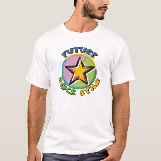 Futur T-shirt de maternité de vedette du rock