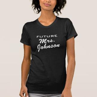 Future Mme T-shirt pour la partie nuptiale de la
