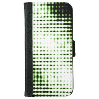 Futuristischer Art-Telefon-Kasten iPhone 6/6s Geldbeutel Hülle