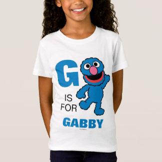 G ist für Grover, den   Ihren Namen addieren T-Shirt