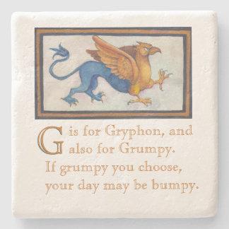 G ist für Gryphon Untersetzer