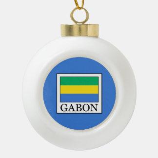 Gabun Keramik Kugel-Ornament