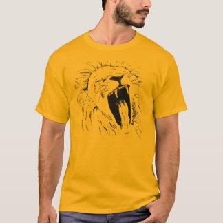 Gähnender Löwe T-Shirt