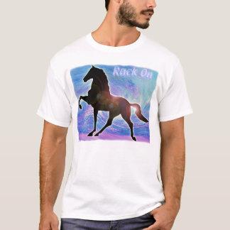 Gaited Saddlebred Racking-Pferd T-Shirt