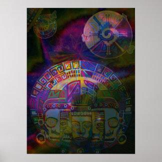 galactic butterfly digital  - 2011 posterdrucke