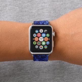 Galaxie-abstrakte Kunst Apple Watch Armband
