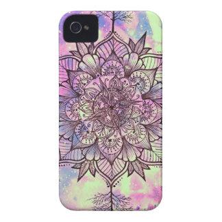 Galaxie-Baum-Mandala iPhone 4 Hüllen
