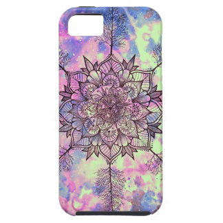 Galaxie-Baum-Mandala iPhone 5 Case